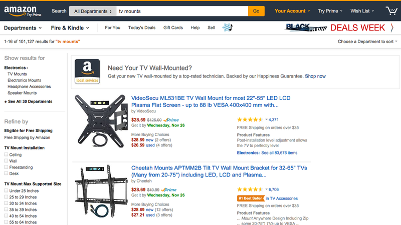 Illustration for article titled Amazon's New Local Handyman Service Looks Super Useful