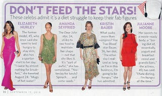 Illustration for article titled Four Out Of Four Hollywood Actresses Are Really, Really Hungry
