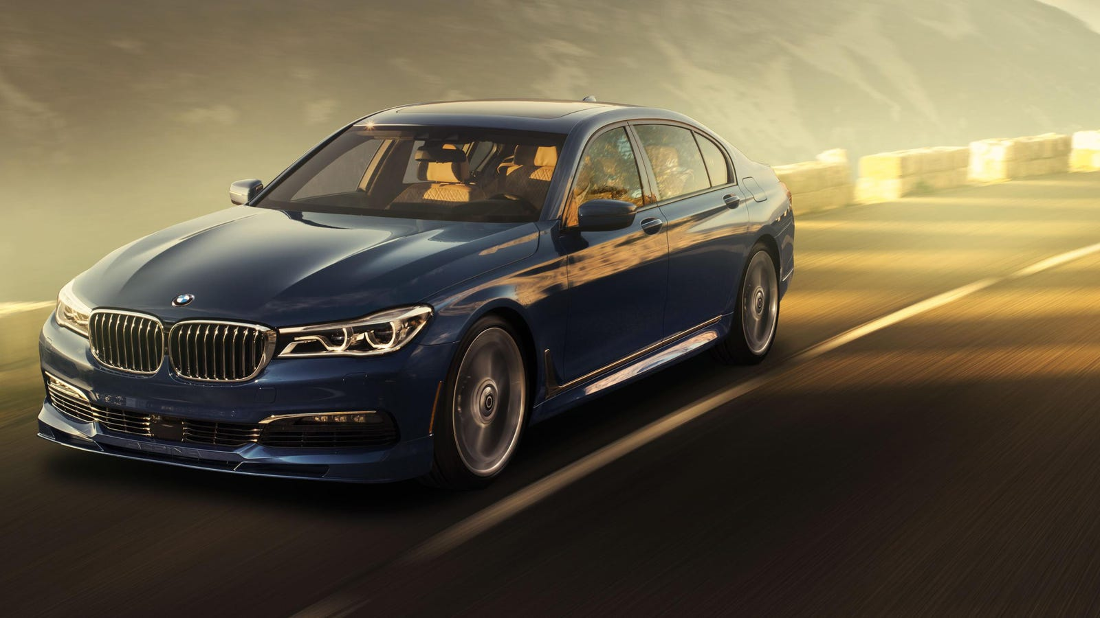 The 2017 Alpina B7 Is Your 600 Horsepower M7 BMW Doesnt Have To Make Now