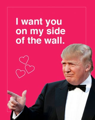 Illustration for article titled Happy Valentine's Day....bigly!