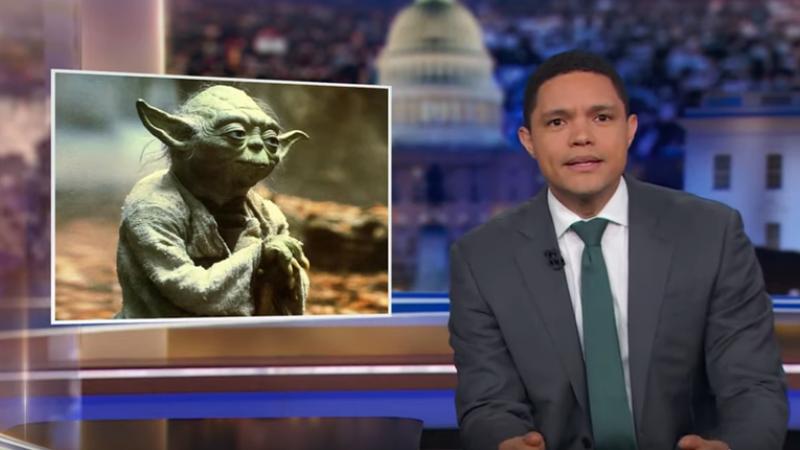 Yoda, Trevor Noah