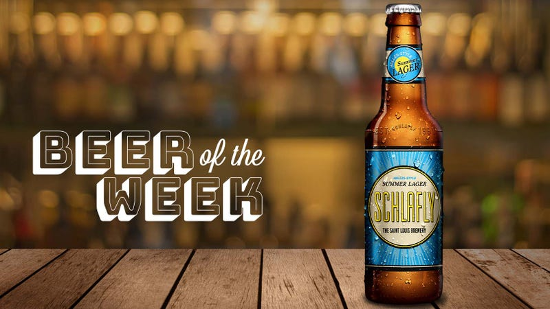 Illustration for article titled Beer Of The Week: Say Helles yeah to Schlafly Summer Lager