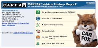 Illustration for article titled How Carfax Works And Why It Doesn't Tell You Everything
