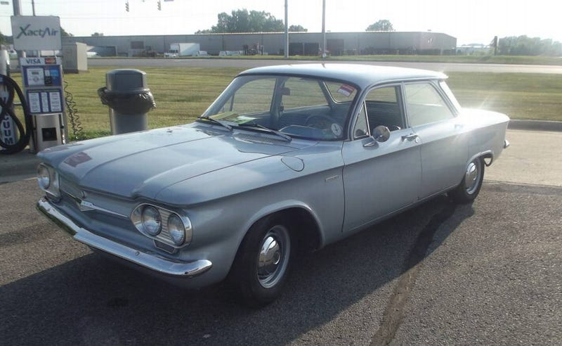 Illustration for article titled For $7,000, Does This 1961 Chevy Corvair 500 Have A Fighting Chance?