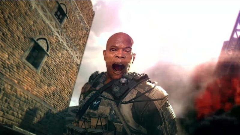Illustration for article titled If Samuel L. Jackson Cameoed in Black Ops II, He'd Look Like This