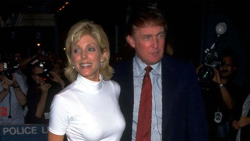 Illustration for article titled Trump Reportedly Dumped Marla Maples Via FedEx