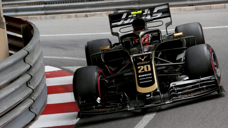 Haas driver Kevin Magnussen at the Monaco Grand Prix.