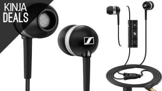 Cheap Sennheiser Earbuds, New TVs for the Big Game, and More Deals