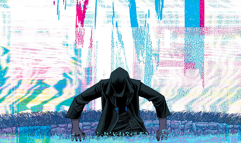 Detail from the cover of Injection #15.