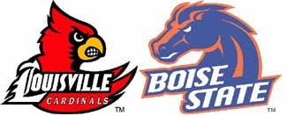 Illustration for article titled NCAA Pants Party: Louisville Vs. Boise State
