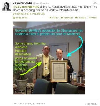 Illustration for article titled Alabama Irony
