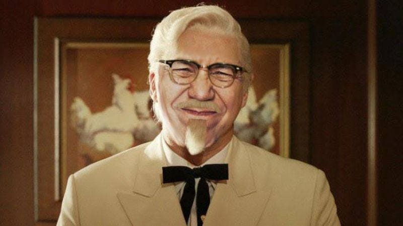 Illustration for article titled Gilbert Gottfried wants to be the next Colonel Sanders