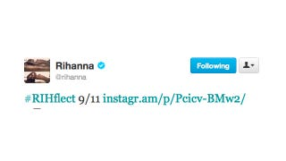 Illustration for article titled Rihanna Would Like You to 'RIHflect' on 9/11