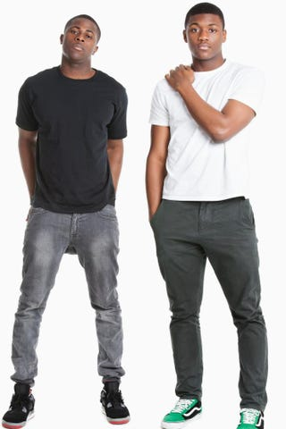 Young men dressed casuallyThinkstock