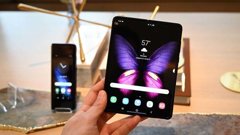 """Illustration for article titled Samsung, ¿qué diablos estás haciendo con la tecnología """"plegable""""?"""