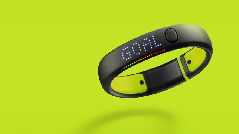 Illustration for article titled Nike fuelband SE - designed for the couch potato in your life