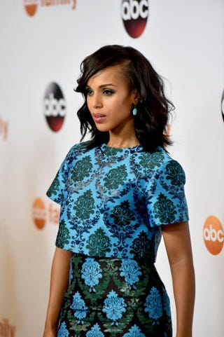 Actress Kerry Washington attends Disney ABC Television Group's 2015 TCA Summer Press Tour at the Beverly Hilton Hotel Aug. 4, 2015, in Beverly Hills, Calif.Alberto E. Rodriguez/Getty Images