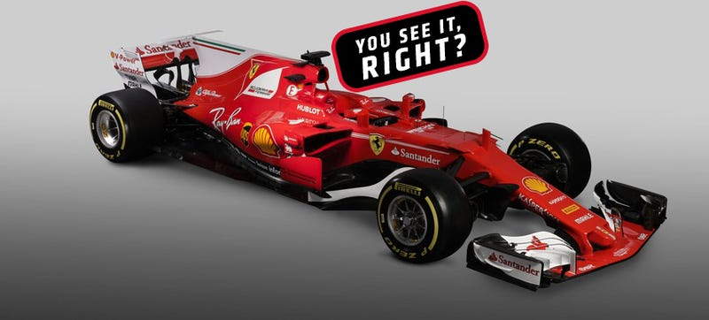 ferrari 39 s f1 car already found the same loophole as mercedes. Black Bedroom Furniture Sets. Home Design Ideas