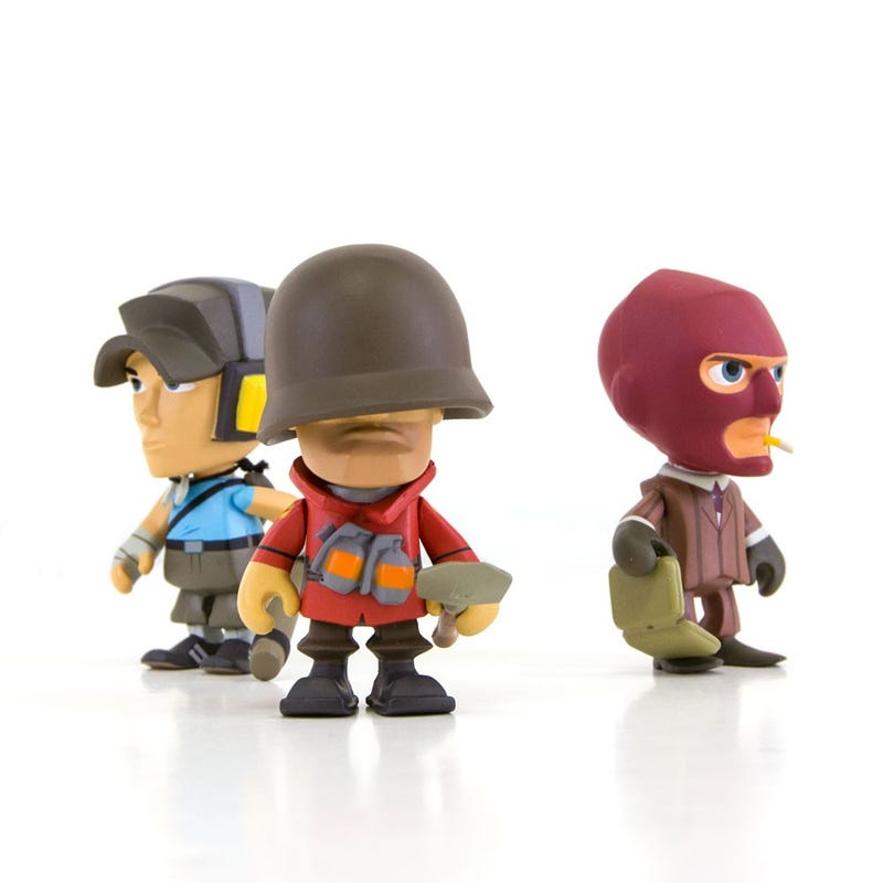 Illustration for article titled Adorable Blind-Boxed Team Fortress 2 Figures