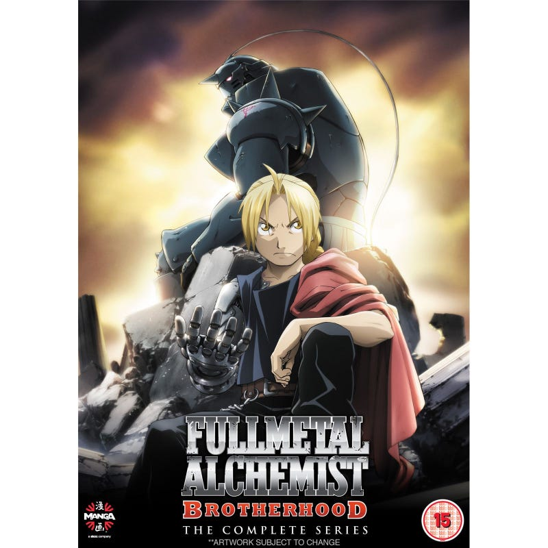 Illustration for article titled As I've mentioned before, I've been watching Fullmetal Alchemist: