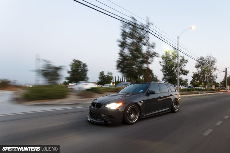 Illustration for article titled E91 M3 Wagon on Speedhunters