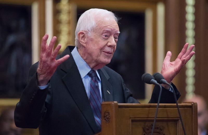 Former U.S. President Jimmy Carter in 2012 Eddie Mullholland-WPA Pool/Getty Images
