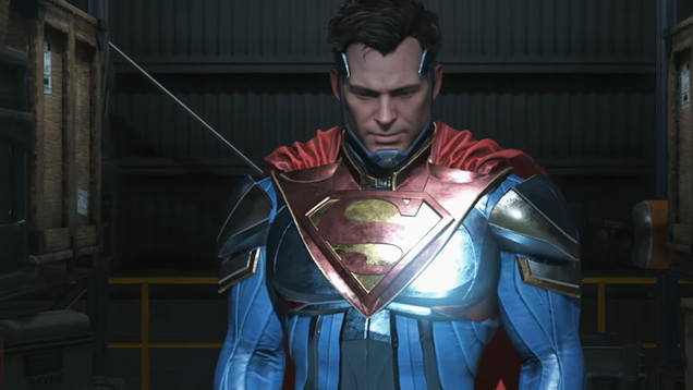 superman s totally ready to be an evil dictator again in the new injustice 2 story trailer