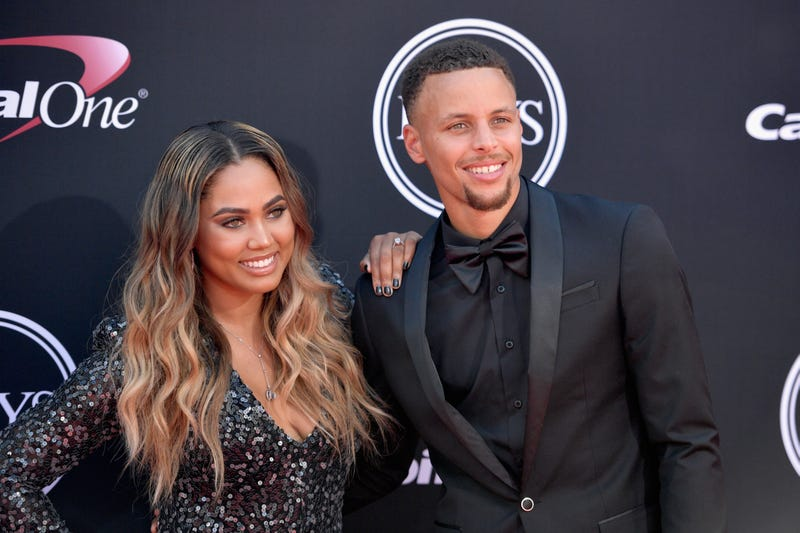 Steph Curry and Ayesha Curry attend the 2017 ESPY Awards at Microsoft Theater on July 12, 2017, in Los Angeles.