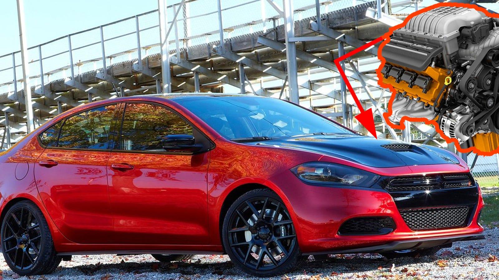 Dodge Refuses To Build A Hellcat Dart