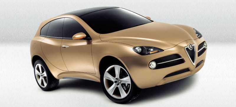 Illustration for article titled Alfa Romeo Plans To Build A New SUV A Mere 13 Years Late
