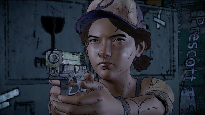 Walking Dead Season 3: Clem With A Gun