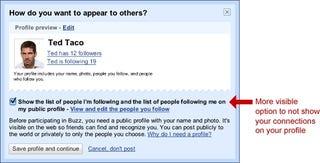 Illustration for article titled Google Updates, Explains Buzz Privacy Setup