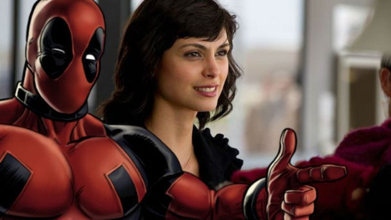 Morena Baccarin to play the female lead in Deadpool
