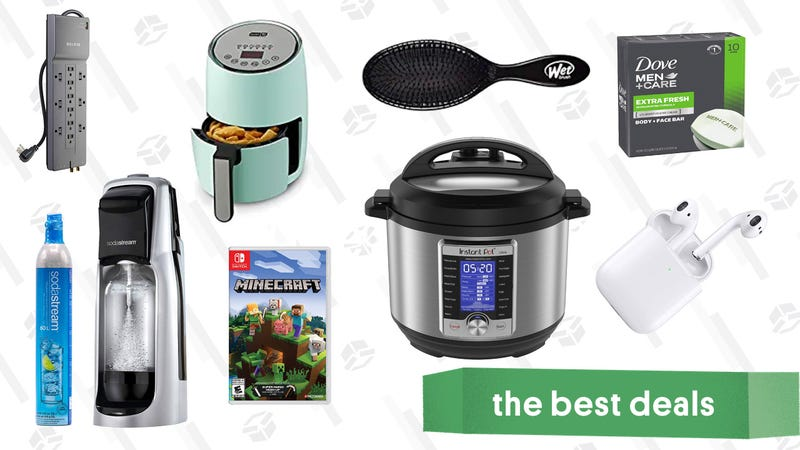 Illustration for article titled Friday's Best Deals: AirPods, Instant Pots, Friends: The Complete Series, and More