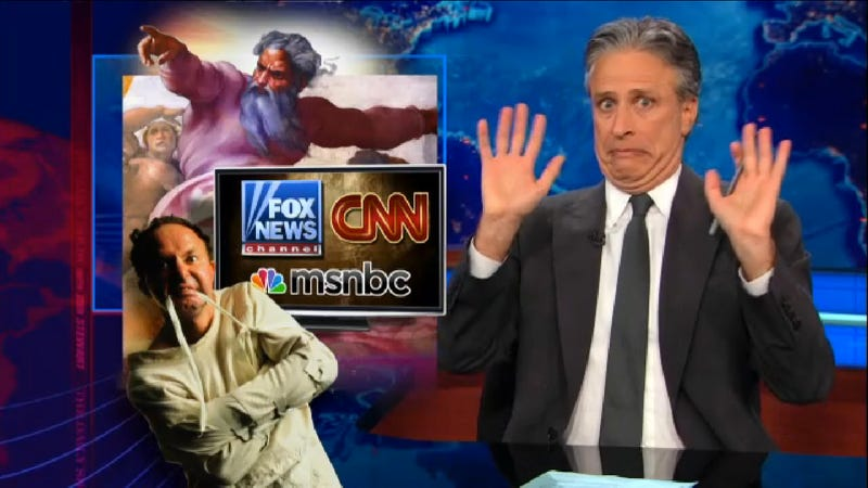 Illustration for article titled Don't Miss Jon Stewart's Epic Takedown of the Gun Control 'Debate'