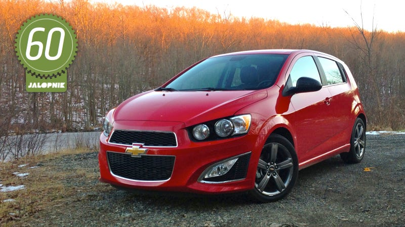 2013 Chevy Sonic Rs The Jalopnik Review
