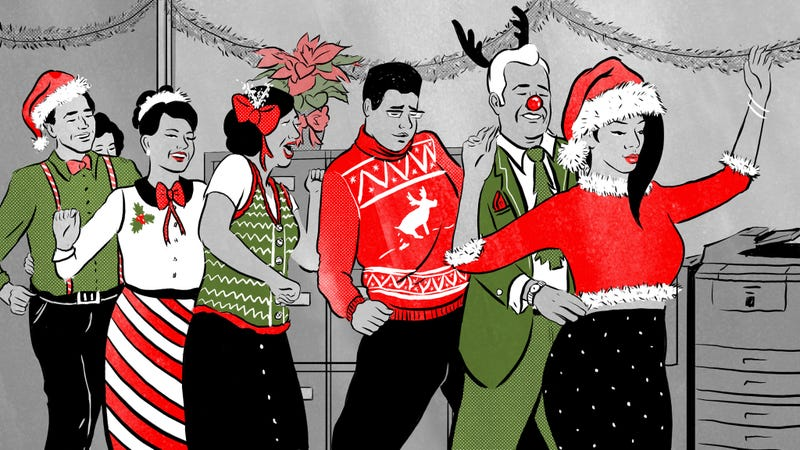 Illustration for article titled What To Wear To Your Company Christmas Party