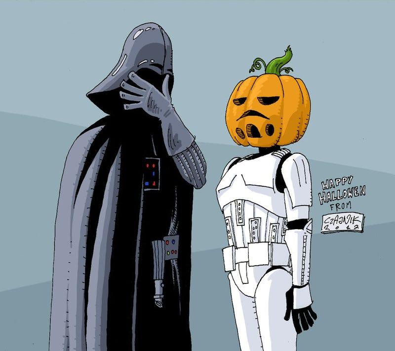Illustration for article titled CAH wars: the pumpkin menace