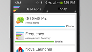 Frequency Shows How Much Time You Spend in Your Apps