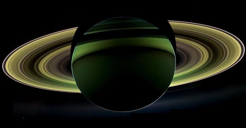 Saturn, by Cassini in 2012. (Image: NASA)