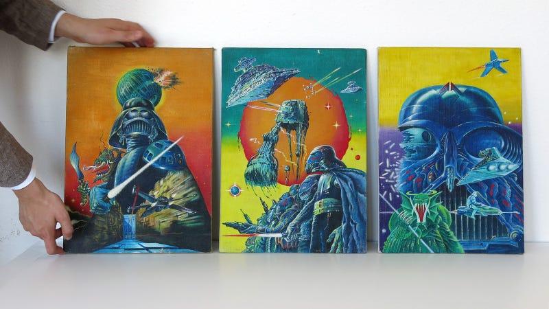 Illustration for article titled Árverésre megy a magyar Star Wars-relikviák Szent Grálja