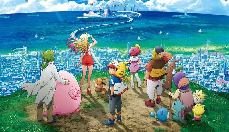 Illustration for article titled Enjoy the new trailer for the upcoming Pokémon Movie