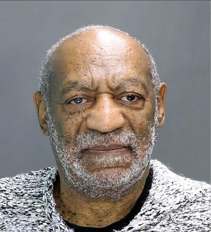 Bill Cosby poses for a mug shot during his arraignment Dec. 30, 2015, in Elkins Park, Pa.Montgomery County District Attorney's Office via Getty Images