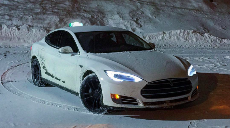 Heres How A Tesla Taxi Held Up After Miles - A tesla