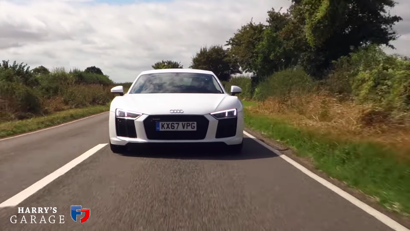 Heres Everything Wrong With The Rear Wheel Drive Audi R8 V10 Rws