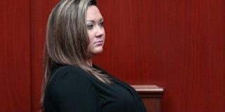 Shellie Zimmerman in court during George Zimmerman's trial (Joe Burbank/Pool/Getty Images)