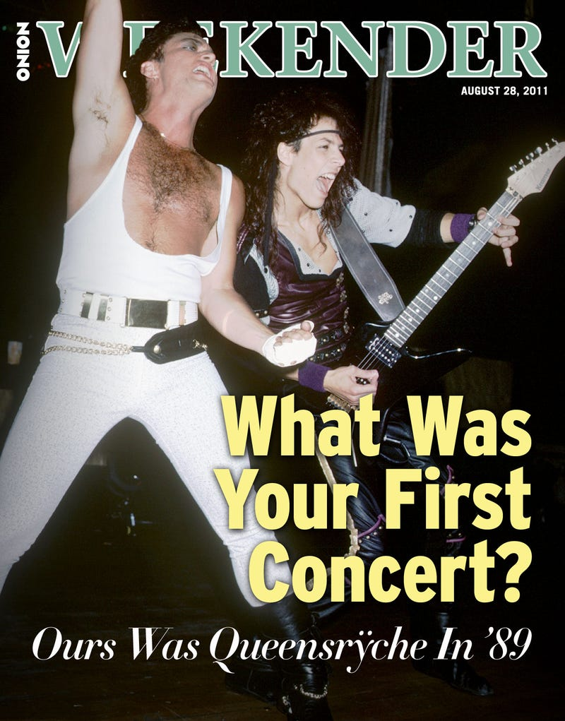 Illustration for article titled What Was Your First Concert? Ours Was Queensrÿche In '89