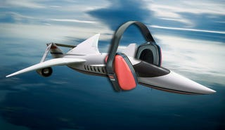Illustration for article titled Lockheed Martin Quiet Supersonic Transport: From New York to LA in 2 Hours, Quietly