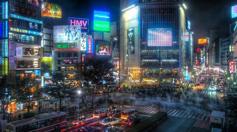 Shibuya. Wikimedia Commons