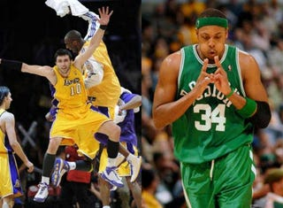 Illustration for article titled Lakers Versus Celtics Part XI: New Blood